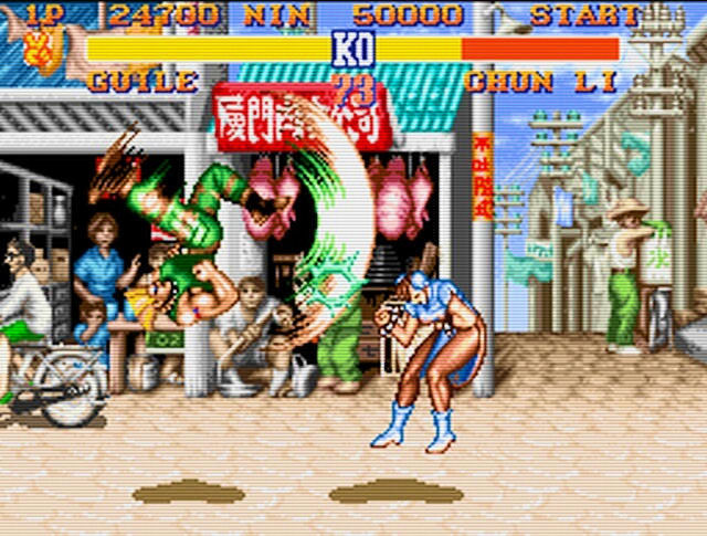 Super Famicom - Street Fighter II Img 01